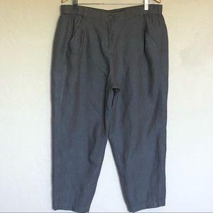 NWT Poetry Plus Linen Pants Sz 14